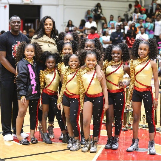 Inspiration Dancers won a youth competition in February.
