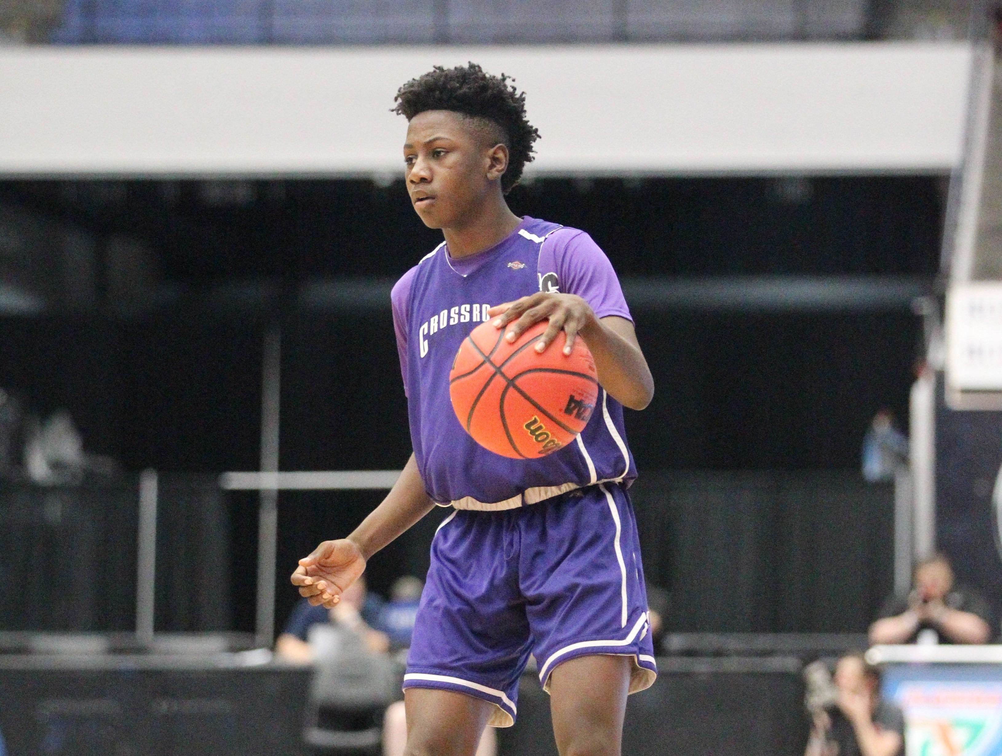 Crossroad Academy played Central Florida Christian Academy during a Class 2A state semifinal at the RP Funding Center in Lakeland on March 4, 2019.