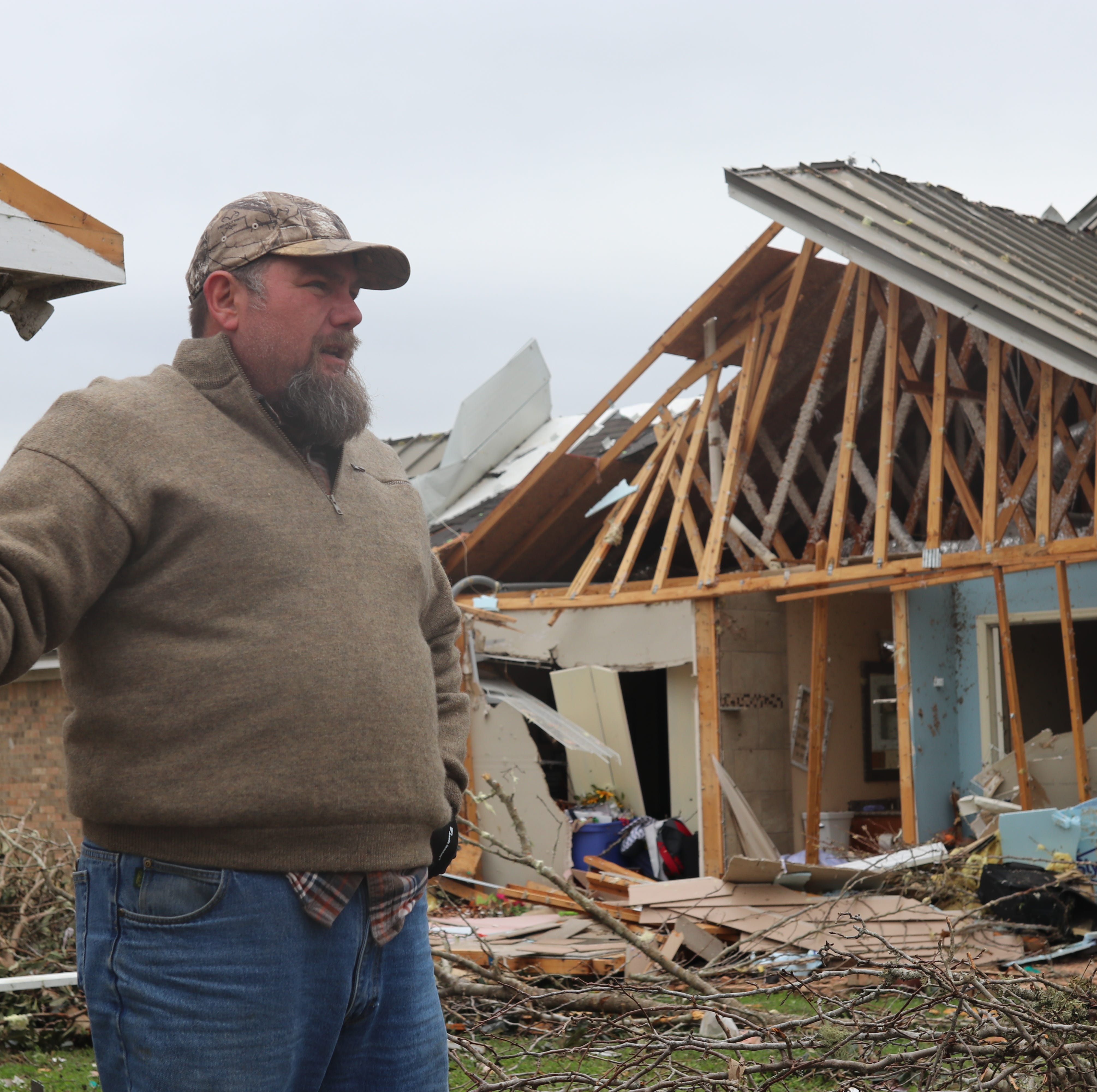 Storm that hit Leon County Baum community upgraded to powerful EF3 tornado
