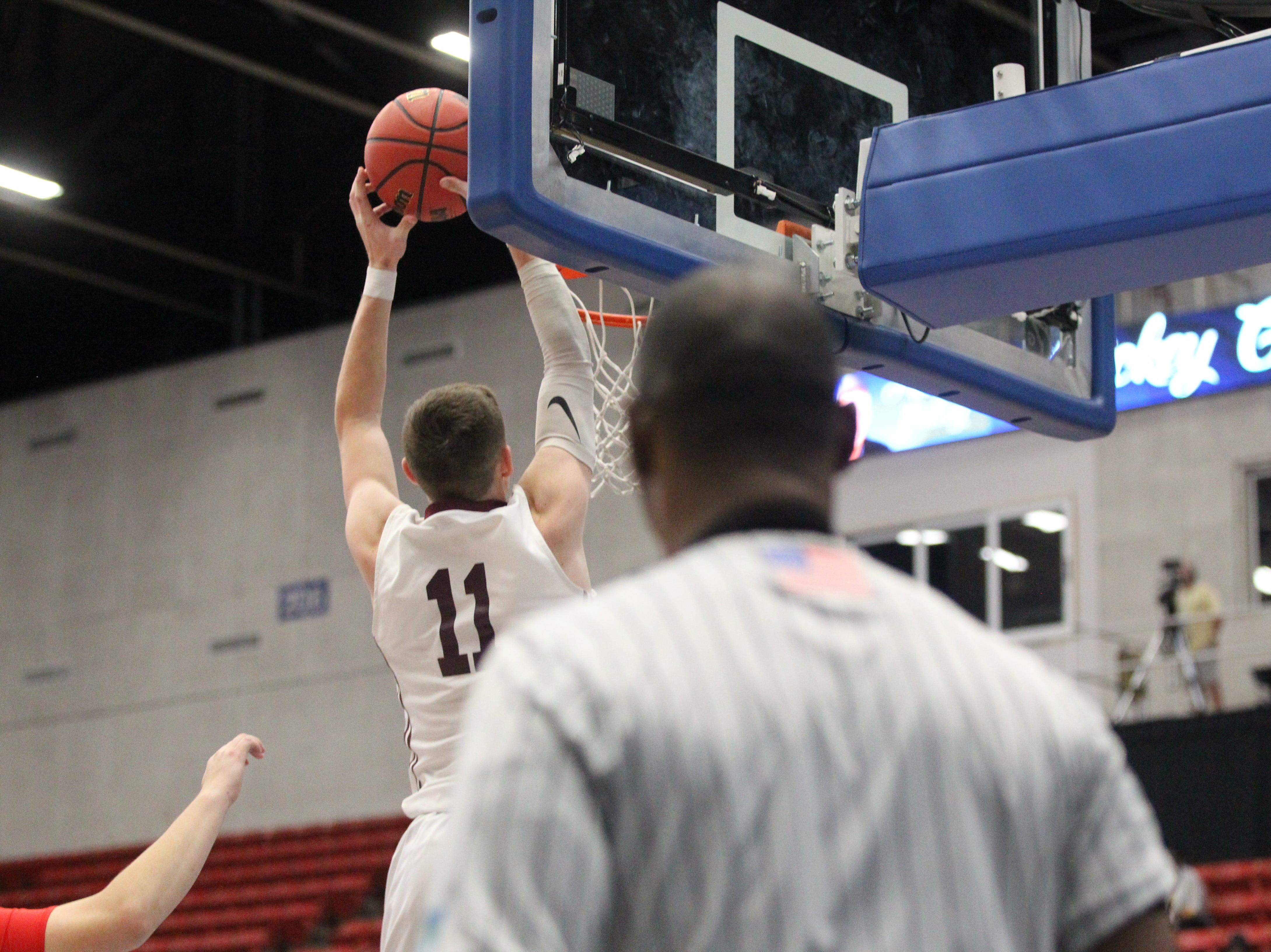 Madison County beat Paxton 63-51 during a Class 1A state semifinal at the RP Funding Center in Lakeland on March 4, 2019.