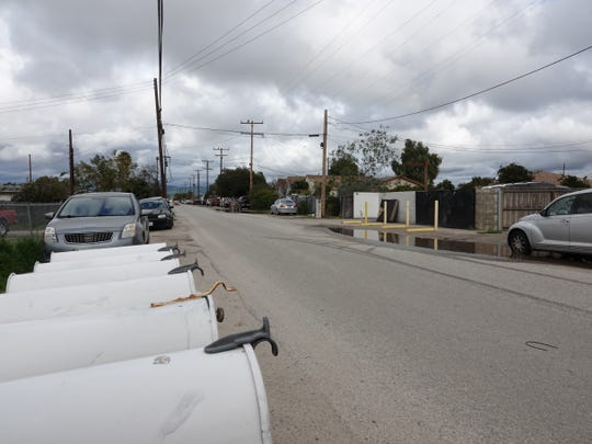 Looking northeast along the 2500 block of Balboa Street in El Rio Sunday.