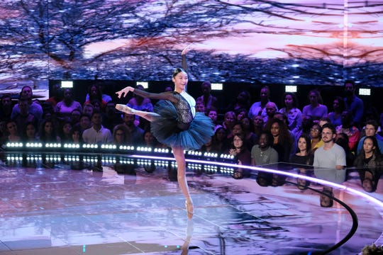 """WORLD OF DANCE -- """"Qualifiers"""" Episode 302. Pictured is Rye Brook's  Kayla Mak."""