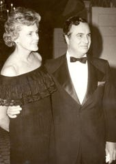 Mary Louise Reid and former U.S. Rep. Ogden Reid in an undated photo.