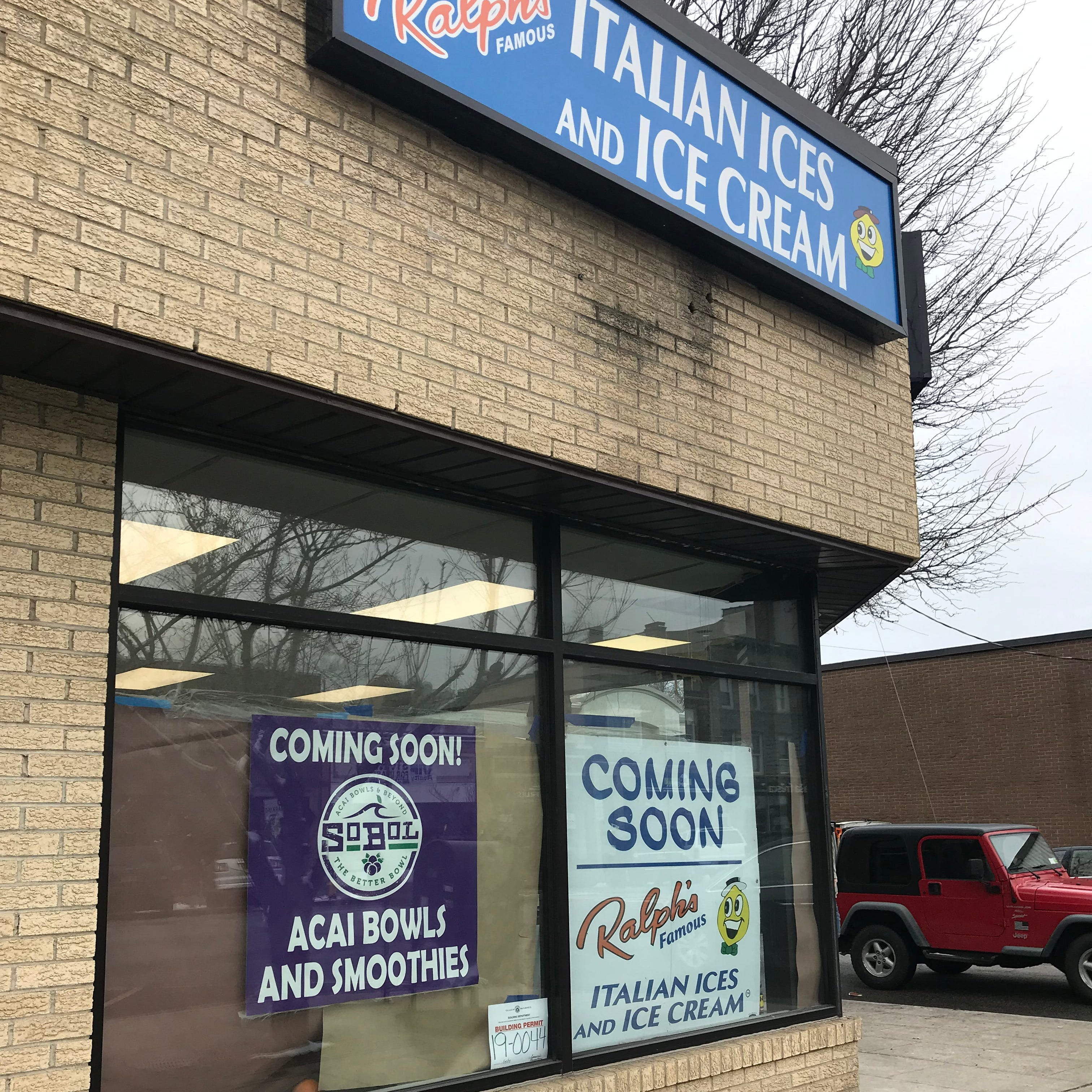 Ralph's Italian Ices will open mid-March in Mamaroneck