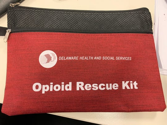"""The state offered training and free naloxone, the overdose-reversing medication, to anyone who was interested in receiving it at Saturday's 5K. This effort is the first of many """"PODS"""" the state will use to distribute naloxone to the community."""