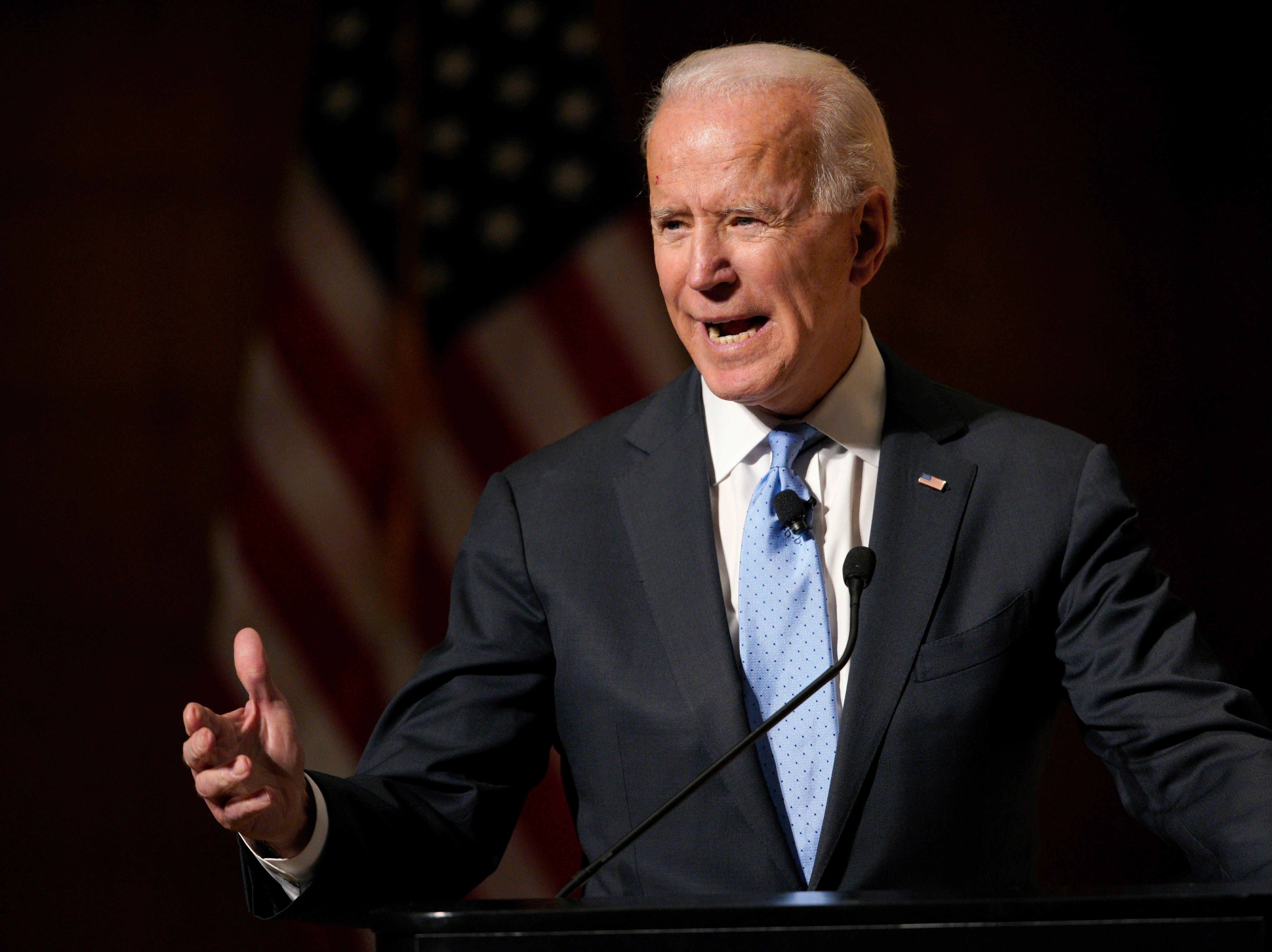Joe Biden eyes fundraising challenge amid new sense of urgency