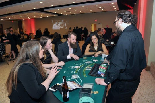 There will be guilt-free gambling galore and many other fun bohemian activities from 6:30 to 11 p.m. Saturday at the CASAblanca Goes Bohemian benefit at The Forum.