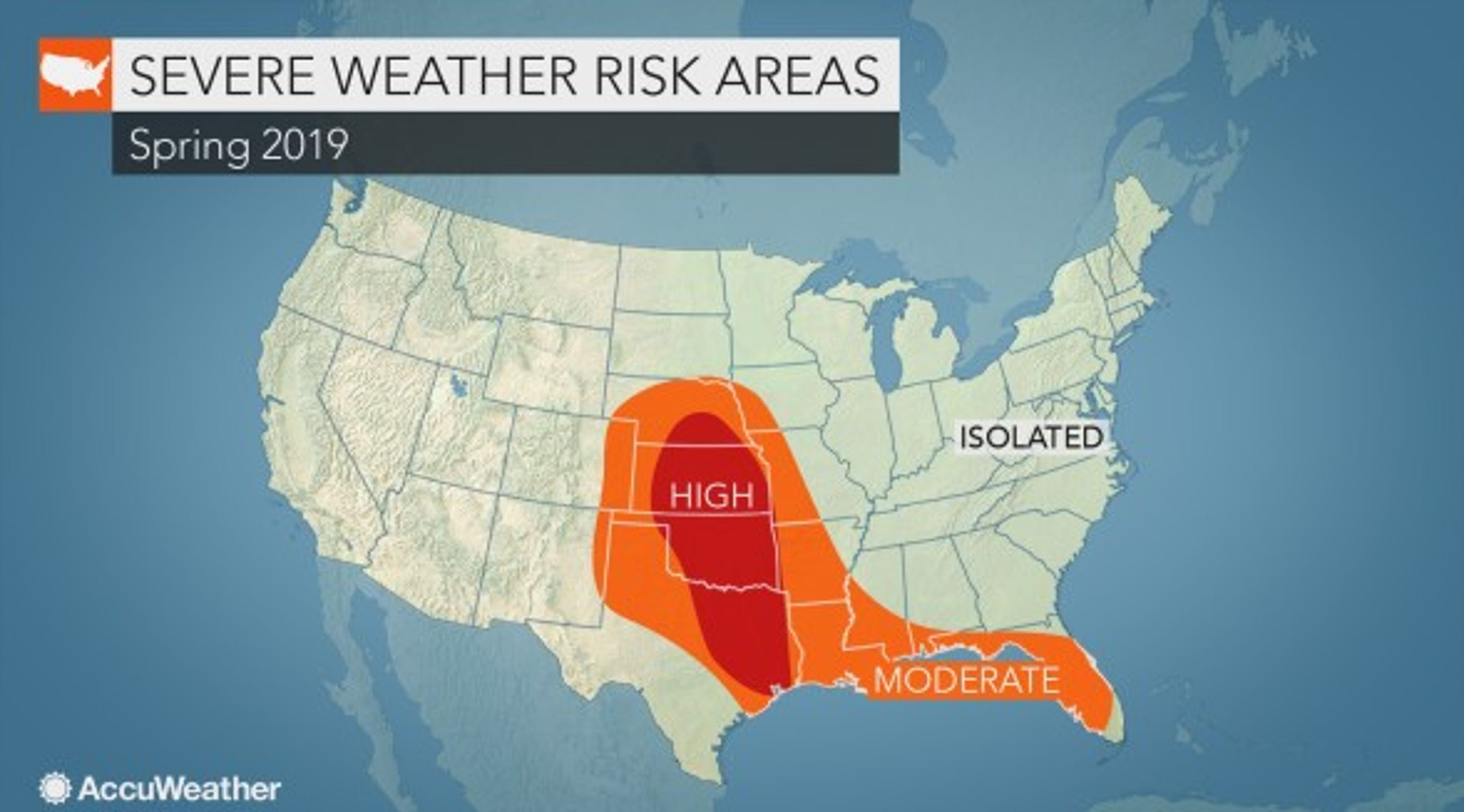 AccuWeather predicting 9 percent more tornadoes in 2019