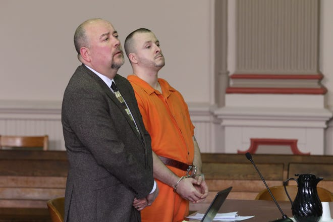 Danny Devoll Jr., 28, of Warsaw pleaded guilty to one count of murder in the fatal stabbing of a homeless man in Zanesville. He is facing life in prison without the possibility of parole for 15 years. Devoll's sentencing date has not been set.