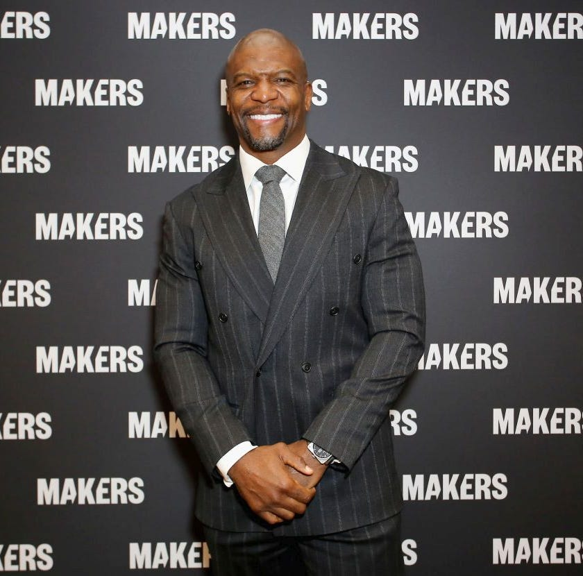 "Actor Terry Crews apologized after saying same-sex parents are ""malnourished."""