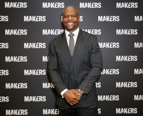 """Actor Terry Crews apologized after saying same-sex parents are """"malnourished."""""""