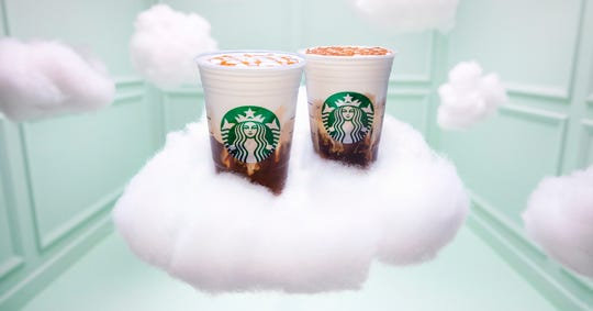 Starbucks releases a new drink on March 5: the Iced Cloud Macchiato.