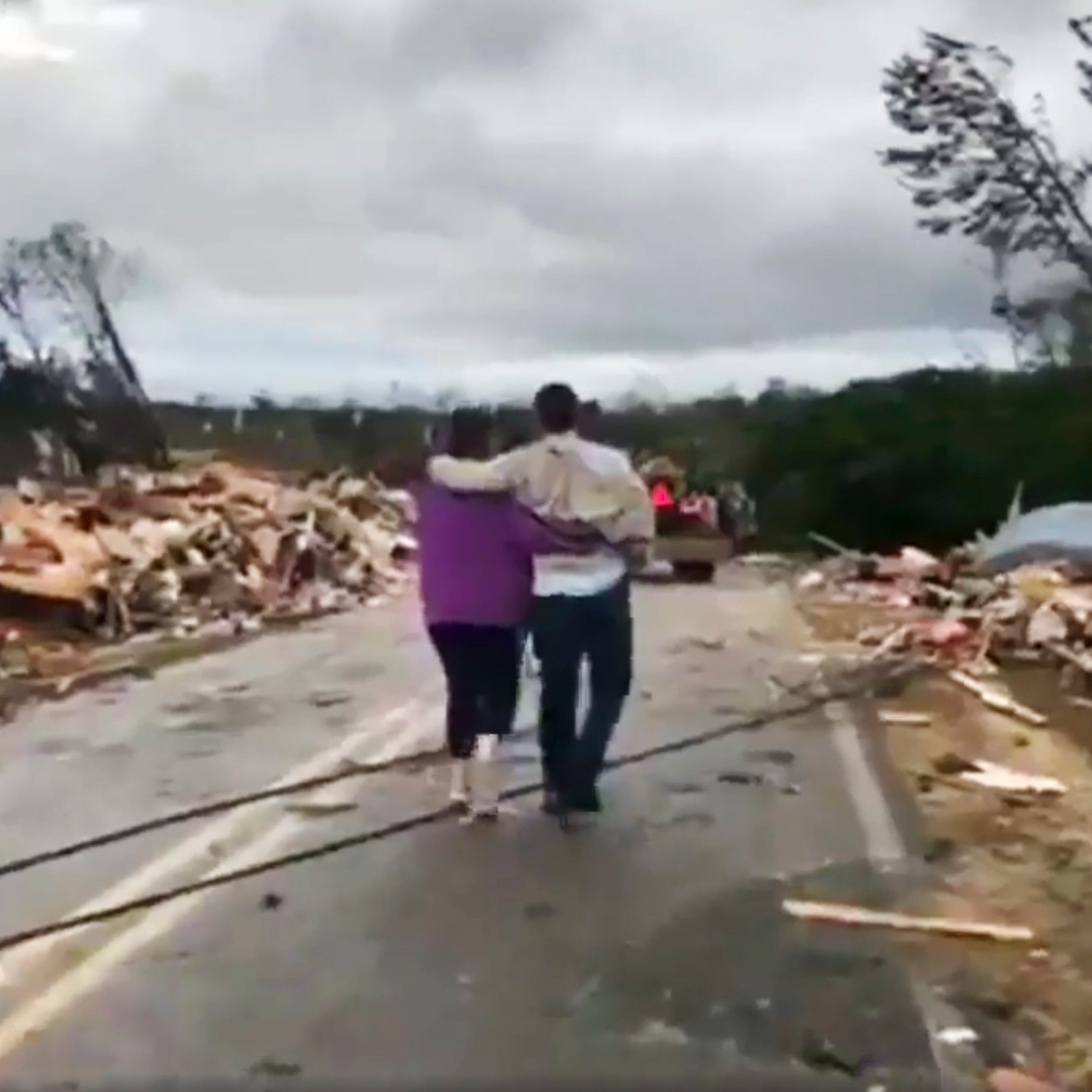 See photos, video from Sunday storms and tornadoes around North Florida