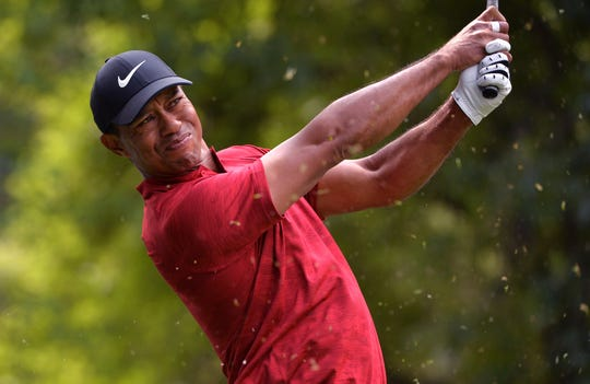 Tiger Woods says he has no long-term concerns about his neck strain.