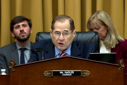 Judiciary Committee Chairman Jerry Nadler, D-N.Y., wants to see the full Mueller report.