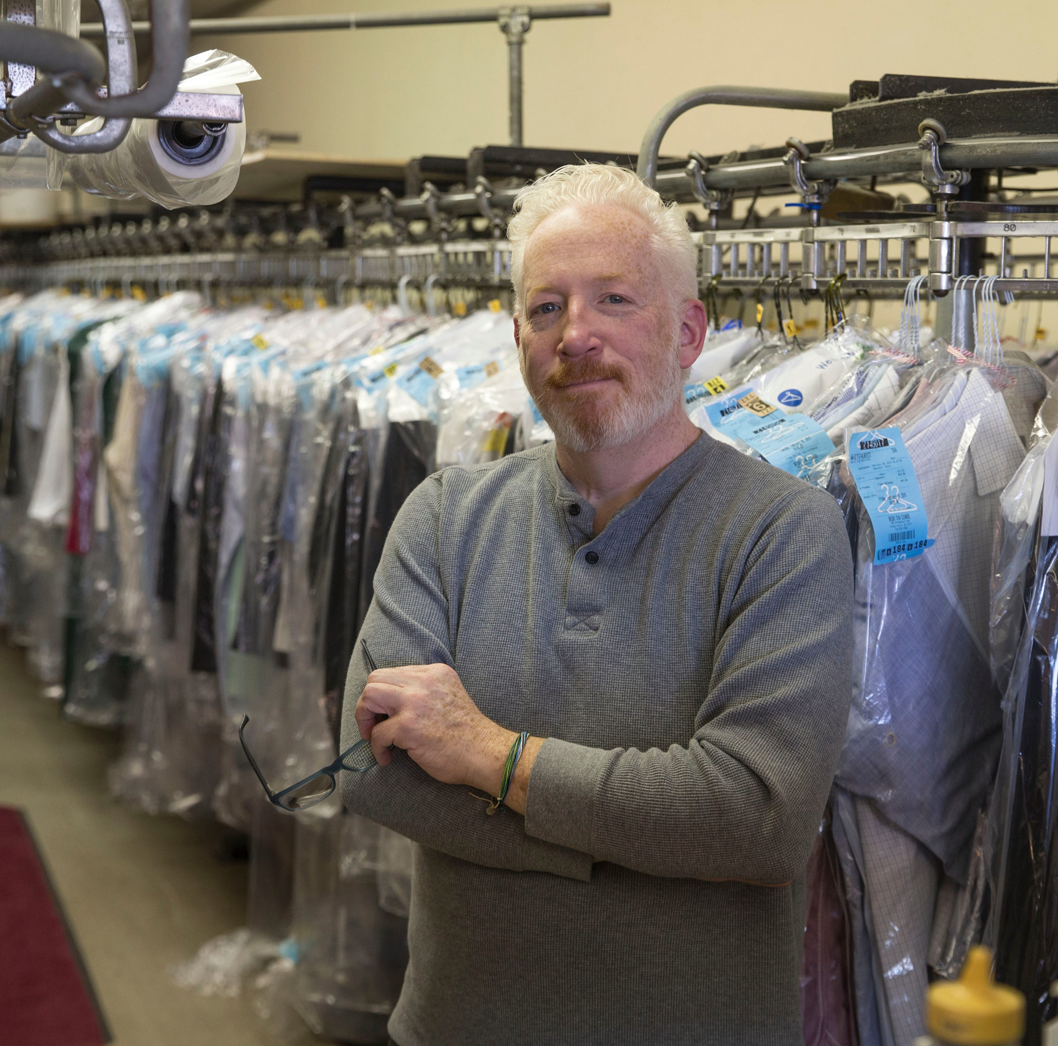 Owner of Bright Star Cleaners in Tinton Falls took a twisty path