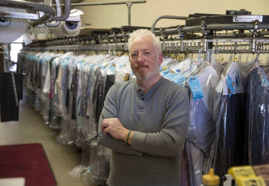 Bright Star Cleaners, is a Tinton Falls-based business that cleans clothes owned by Brian Murphy.