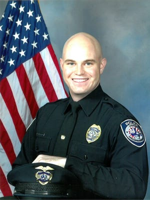 Midland Police Officer Nathan Heidelberg was shot in the line of duty and later died at a hospital on Tuesday, March 5, 2019.