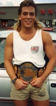 Rob Van Dam was once known as Rob Szatkowski, who graduated in 1989 from Pennfield High School