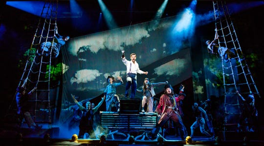 "The company of ""Finding Neverland"" performs a scene in the musical's tour."