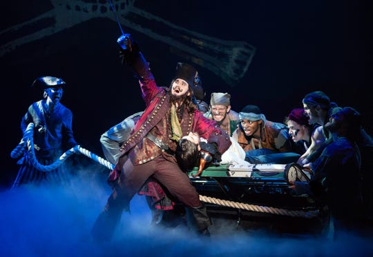"The touring company of ""Finding Neverland"" brings the beloved story of Peter Pan to life."