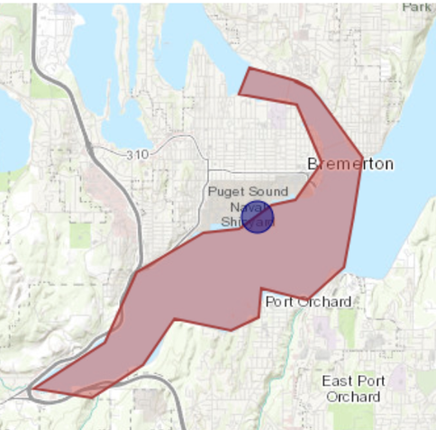 Shipyard sewage spill prompts advisory for Sinclair Inlet