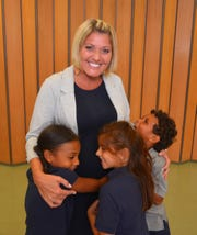 "Carri Nevad, the elementary school principal at Merritt Island Christian School, will appear on ""Deal or No Deal"" Wednesday night. The popular principal is getting hugs from first graders."