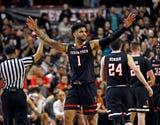 The No. 8 Texas Tech men's basketball team defeated Texas 70-51 on Senior Night.