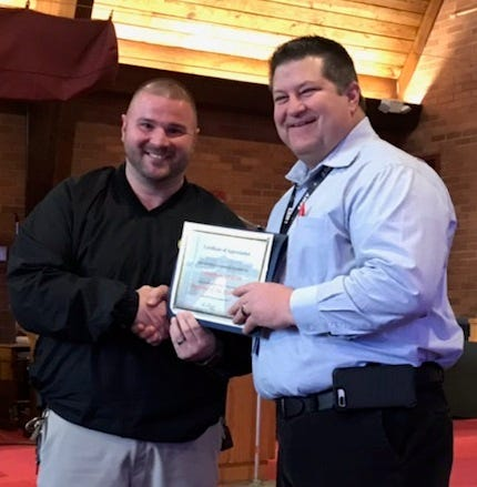 Chillicothe Correctional Institution names its staff, officer of the year