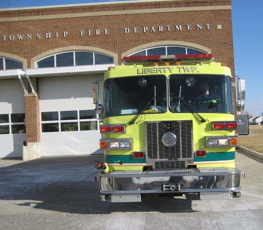 Liberty Township officials applied for a federal grant that would help them hire nine additional full-time firefighters