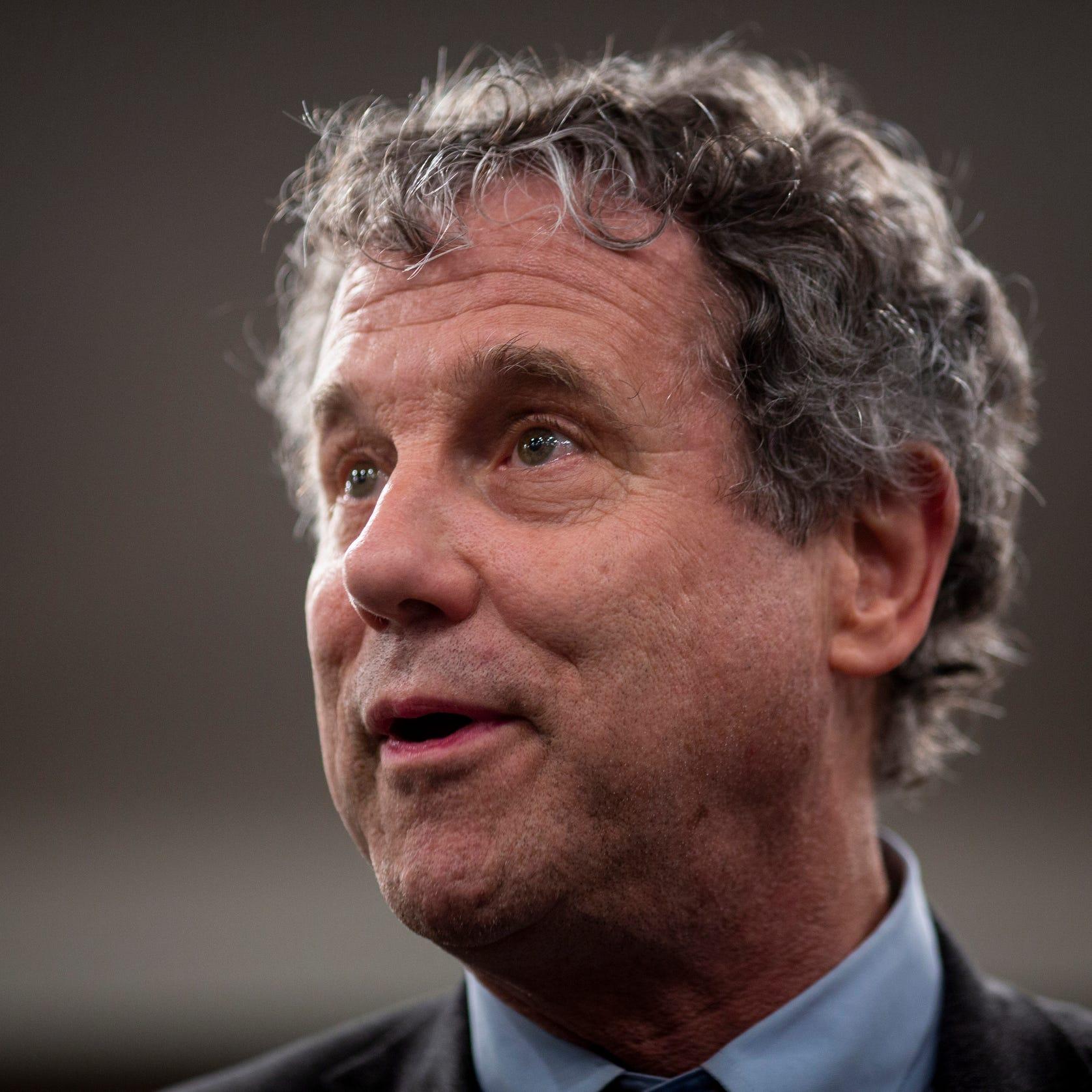 Sherrod Brown won't run for president. The Ohio Democrat said he wants to remain a senator