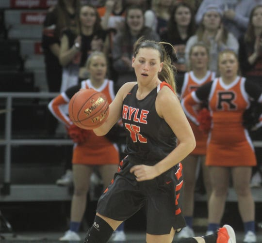 Ryle senior Lauren Schwartz, 2019 9th Region final