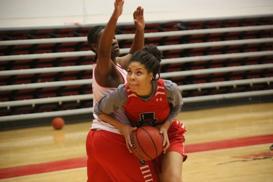 Austin Peay goes through practice earlier this season. The Lady Govs face Tennessee Tech to tip off the OVC Tournament Thursday in Evansville, Ind.