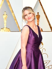 Sara Haines arrives for the 90th Annual Academy Awards on March 4, 2018, in Hollywood, California.