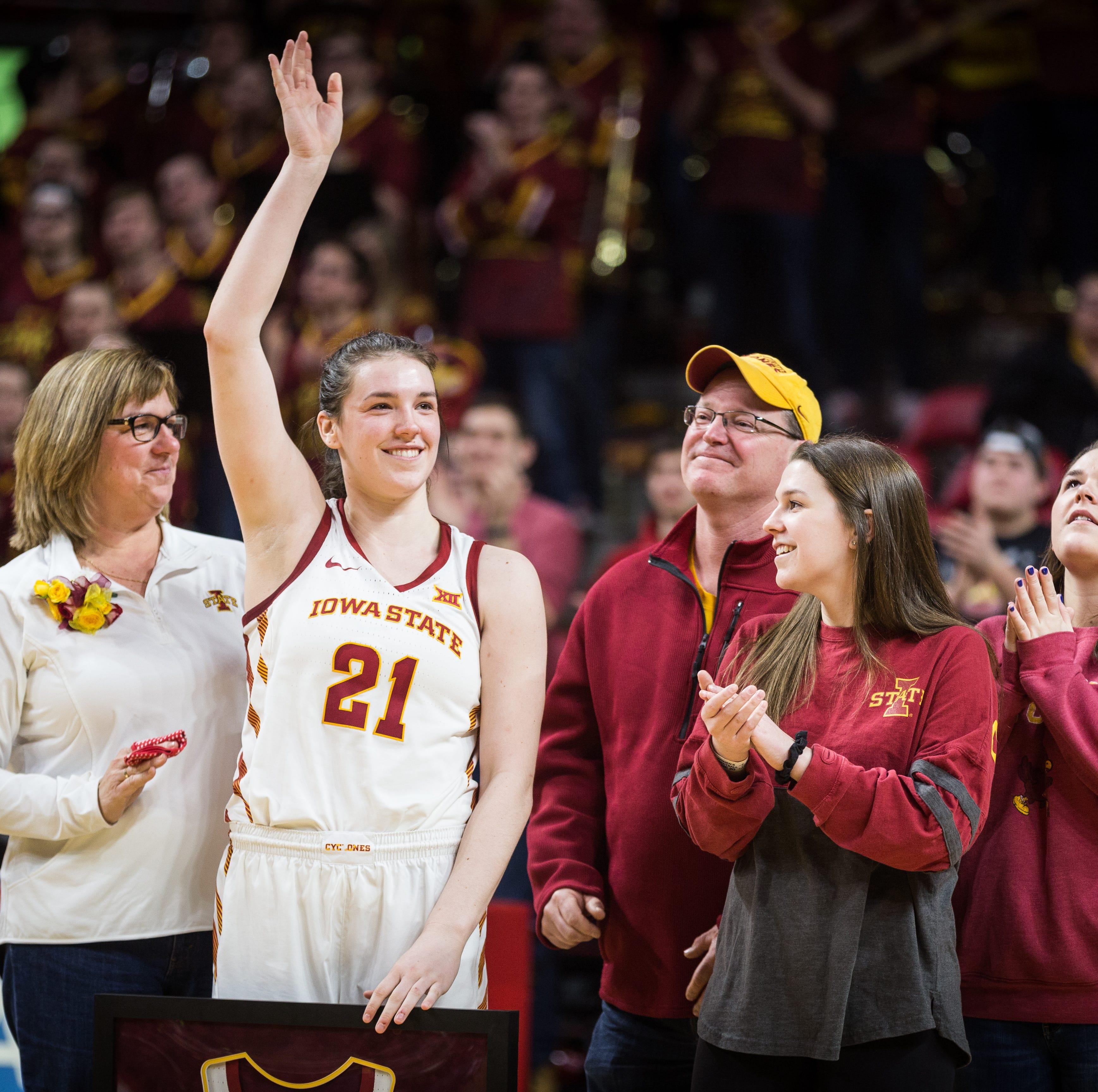 Iowa State's Bridget Carleton wins Cheryl Miller Award