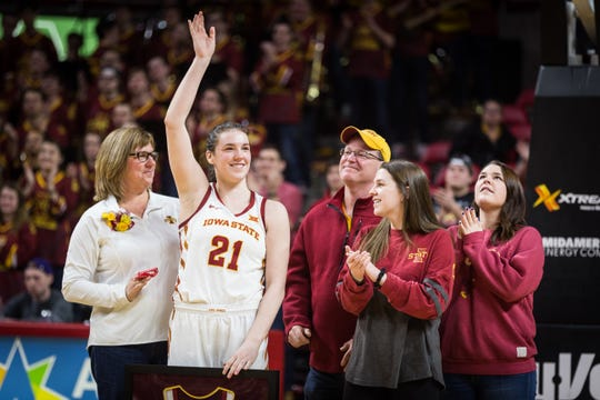 Former Iowa State star Bridget Carleton added another big accolade to her resume.