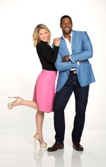 "Michael Strahan and Sara Haines are teaming up as co-hosts of ""Strahan and Sara,"" the new third hour of ""Good Morning America"" debuting this fall.  (ABC/Heidi Gutman)"