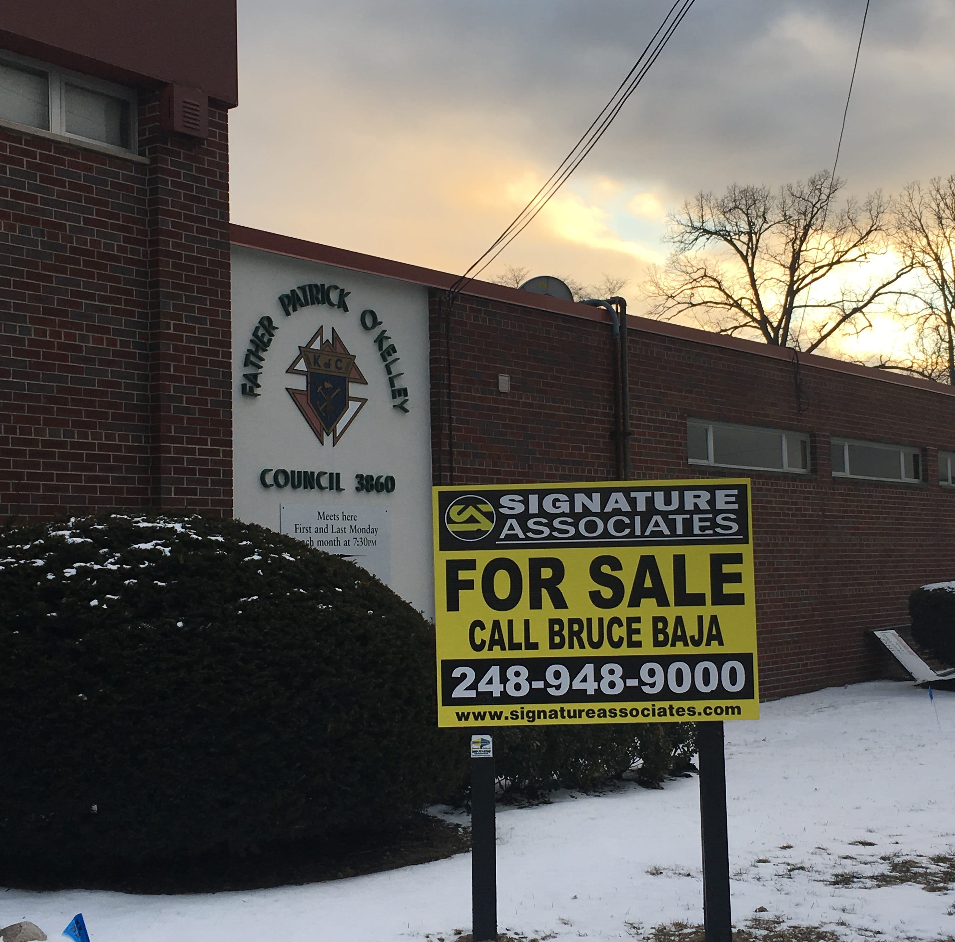 O'Kelley Knights of Columbus hall closing in Dearborn after 40 years