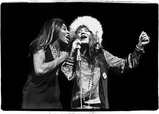 "Janis and Tina at Madison Square Garden, November 27, 1969, featured in ""The Show's the Thing"", playing Freep Film Festival 2019."