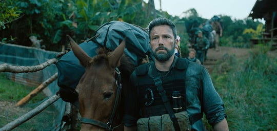 "Ben Affleck in ""Triple Frontier."""