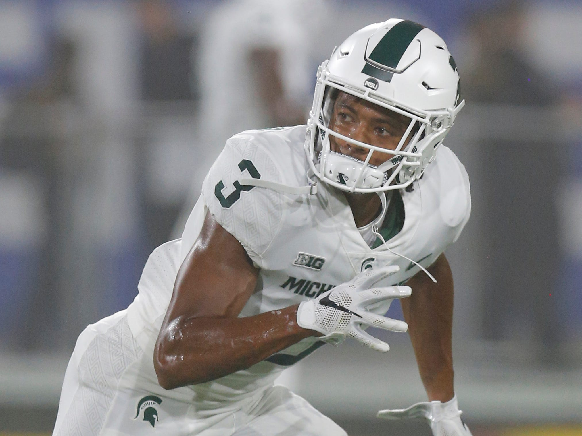 STRONG SAFTEY: Xavier Henderson – After appearing in all 13 games as a true freshman, expect Henderson to move into the starting lineup to replace the graduated Khari Willis. Henderson had 15 tackles and recovered a fumble as MSU's fifth defensive back.