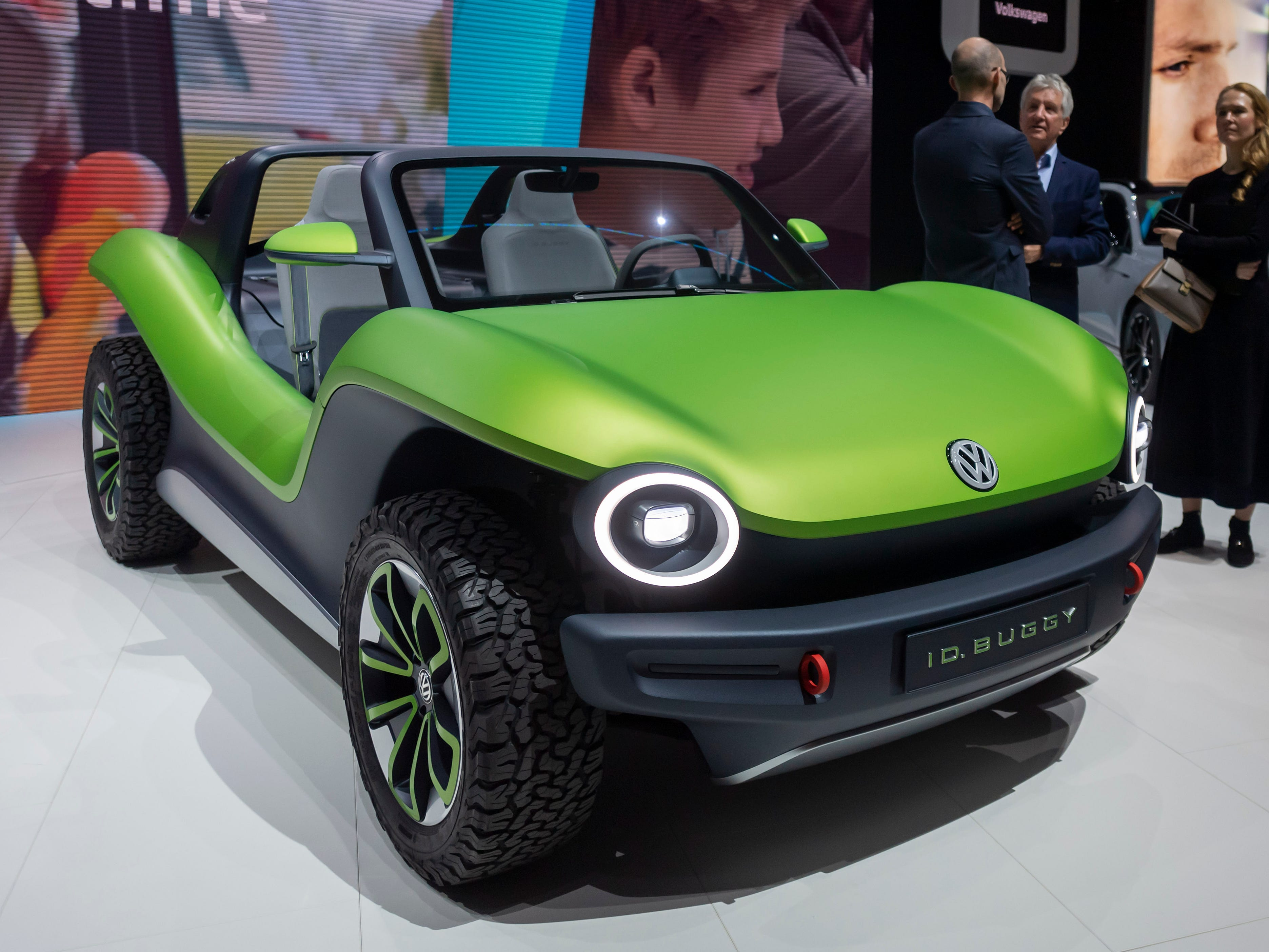 The Volkswagen ID Buggy has its time in the spotlight.