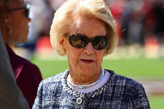 Martha Firestone Ford placed at No. 1,605 with $1.4 billion.