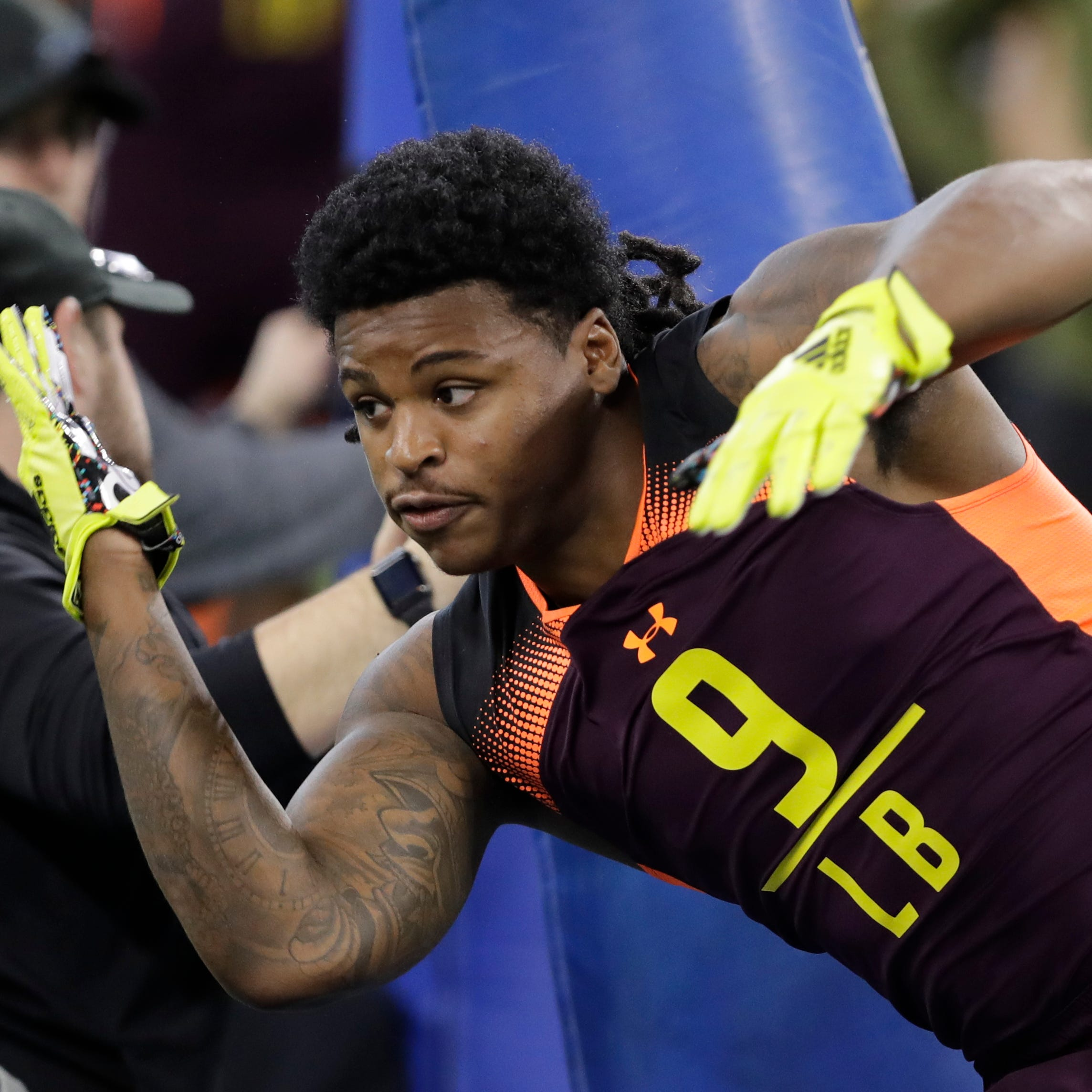 Players whose stock is rising, falling after NFL combine