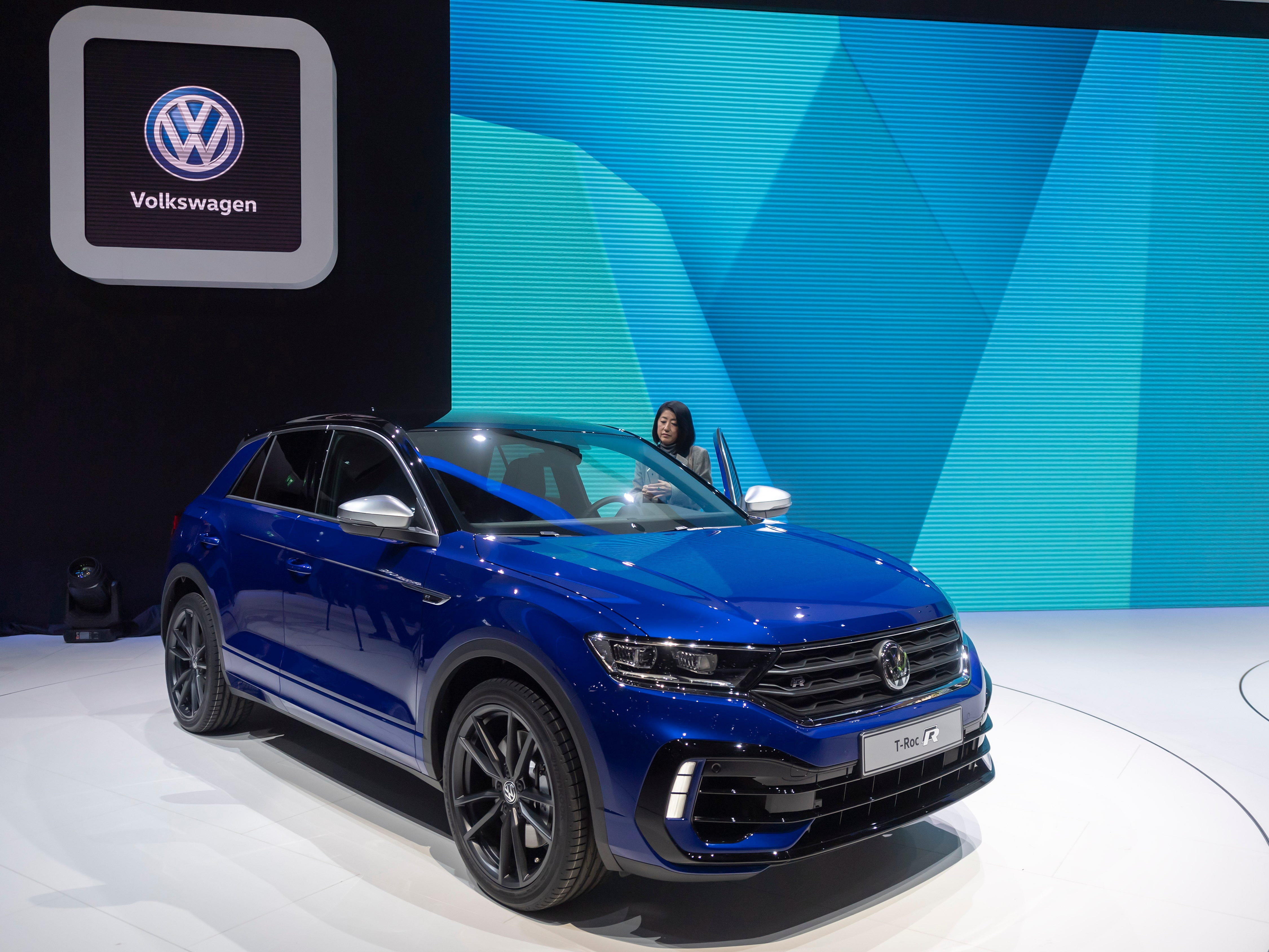 Volkswagen also introduced the T-Roc R.