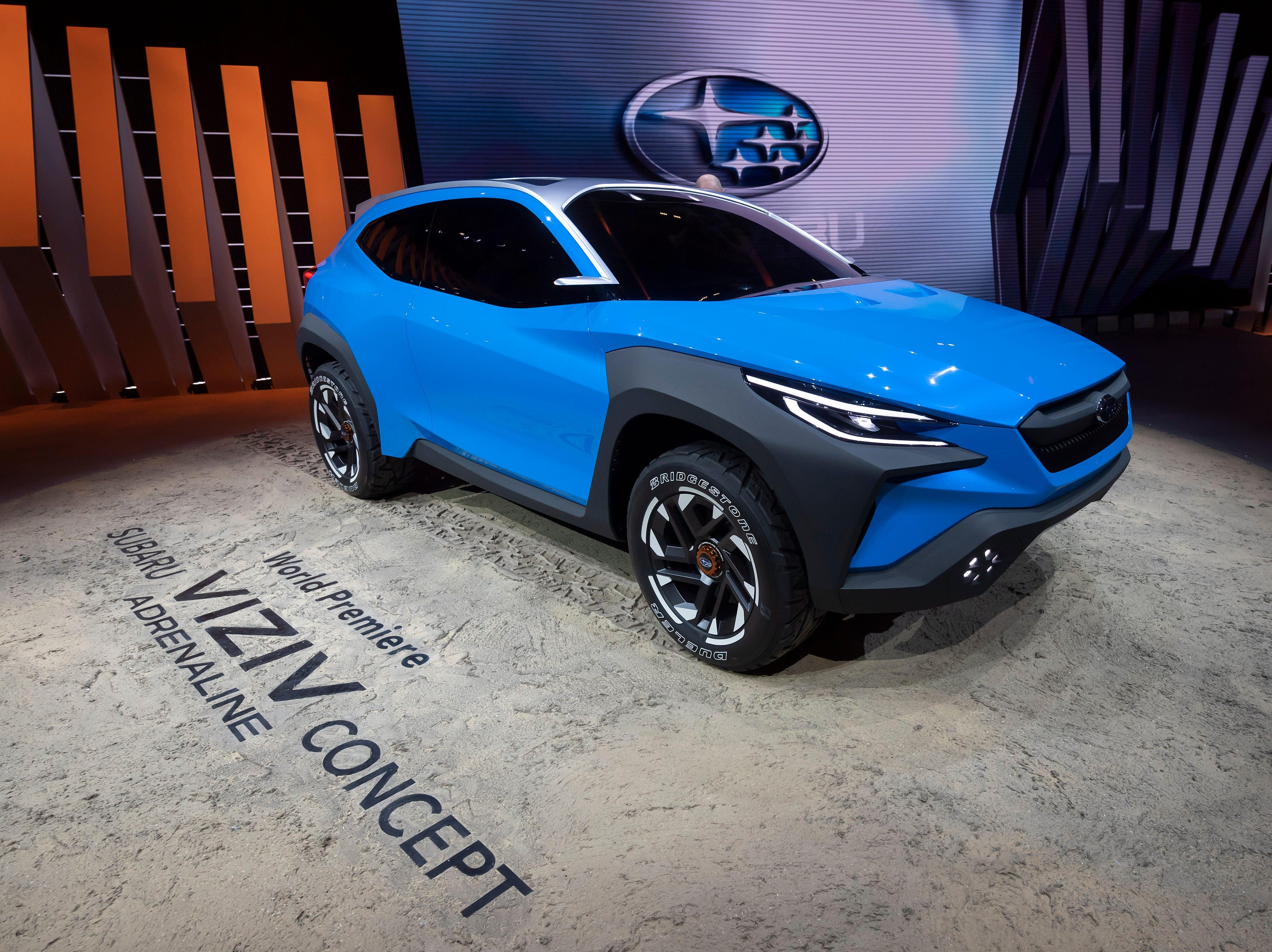 The Subaru Viziv Concept is presented.