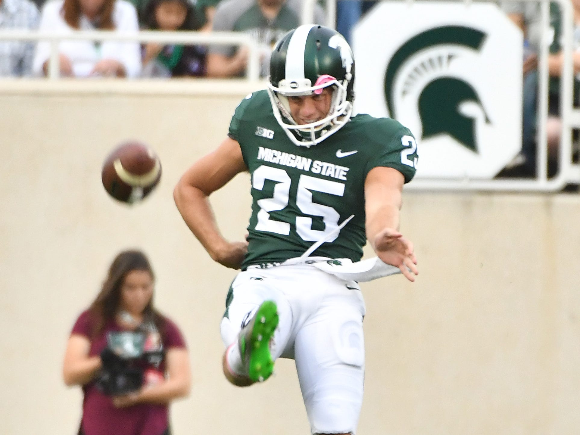 SPECIAL TEAMS – PUNTER: Jake Hartbarger – He'll be back for a sixth season after suffering a broken leg in the second week of last season. His presence will help solidify a position that saw five different players punt the ball in 2018.