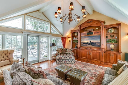 A gorgeous view off the family room.