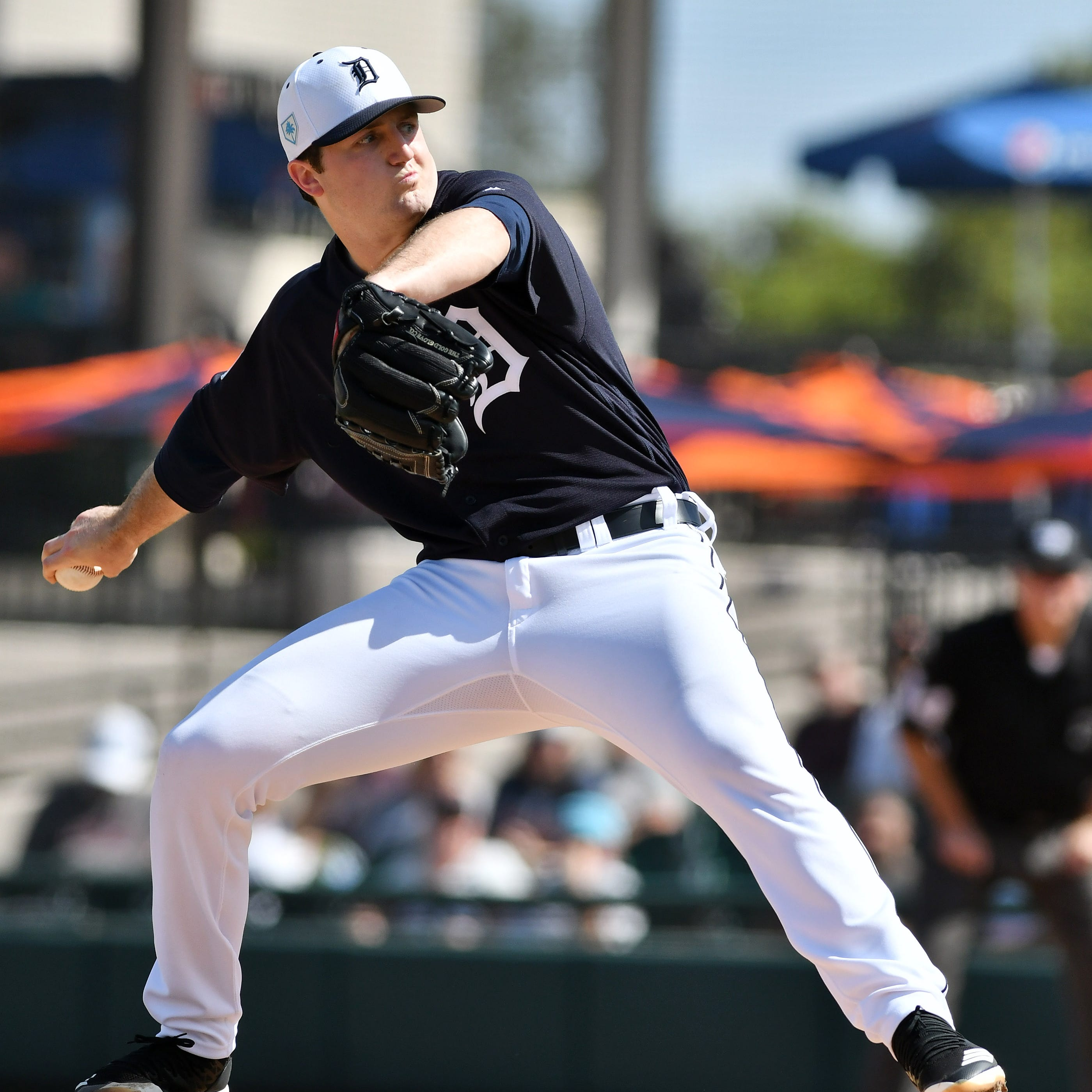 Tigers top pick Casey Mize ends his first camp with a flourish