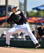 Tigers pitching prospect Casey Mize, the No. 1 overall pick last June, was reassigned to minor-league camp Tuesday.
